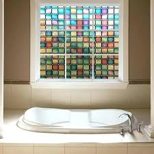 window for shower doors stained glass window faux for front door stained glass window