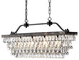 antique bronze crystal chandelier antique bronze rectangular crystal chandelier dining room ceiling intended for popular property