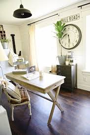 country office decor. Farmhouse Style Office Makeover   Fabulous Farmhouses Pinterest Office, And Country Decor E