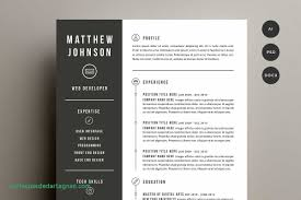 Resume Cover Letter Template Resume Templates Creative Market Best