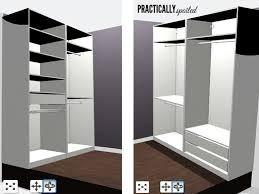 diy ikea master closet makeover practicallyspoiled com