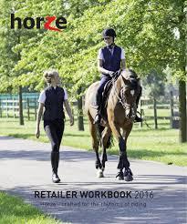 Horze Retailer Workbook 2016 By Horze Issuu