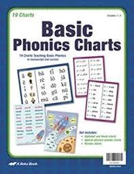 Abeka Basic Phonics Charts Grades 1 3 2016 A Beka Amazon