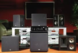 klipsch thx speakers. other than their brushed-aluminum baffles, the black beauties forego any overt stylistic touches or extravagant veneers; instead, engineers lavished klipsch thx speakers c