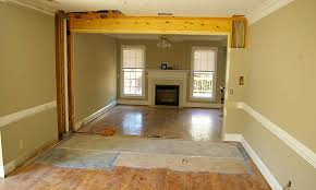 interior re modelling make room