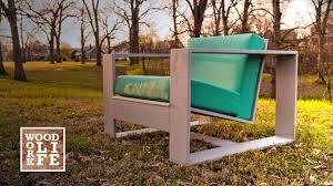 diy modern adirondack chair w bottle opener drink holder builds