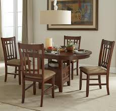Oval Kitchen Table And Chairs Intercon Mission Casuals Oval Dining Table Set With Cushioned Side