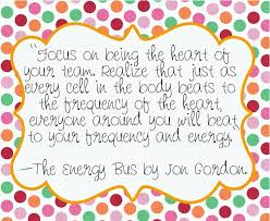 The Energy Bus Quotes Mesmerizing Quotes Great Quotes From The Energy Bus