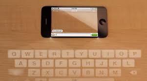 iPhone 5 Concept Video Stunning Transparent Display Laser Keyboard