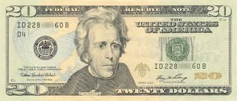 should andrew jackson be removed from the 20 as hillary clinton 20 dollar bill