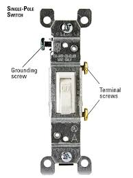 about single pole switches how to install a switch or receptacle single pole switch enlarge image