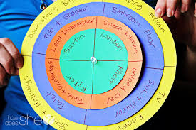 4 Person Chore Chart Chore Chart For Multiple Children Put Your Kids To Work
