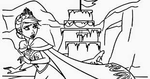 Small Picture Frozen Ice Palace Coloring Coloring Pages