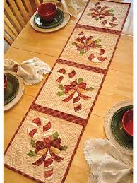 Christmas Table Runner Patterns Enchanting Holiday Table Topper Patterns Merry Merry Table Runner Pattern