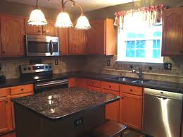 Granite Kitchens P Pupkin Tan Brown Granite Kitchen Countertop Granix Marble