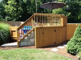 above ground pool deck kits. Above Ground Pool Deck Designs And Gazebos Doherty House Above Ground Pool Deck Kits T