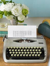 office desk decoration items. typewriter office desk decoration items