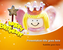 free happy birthday template free happy birthday powerpoint template