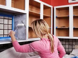 Walnut Wood Driftwood Shaker Door Best Brand Of Paint For Kitchen Cabinets  Backsplash Herringbone Tile Composite