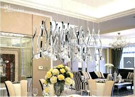 Crystal Dining Room Chandelier Impressive Decorating Design