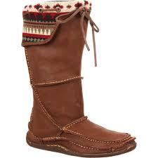 durango women s santa fe tall moccasin medium brown large