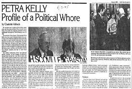 LAROUCHE PLANET | Cult / Petra Kelly (1947 – 1992)