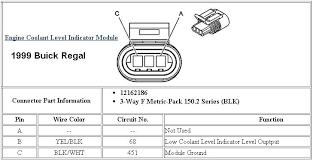 low coolant sensor speed limit 88 buick coolant level connector