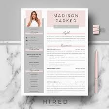 How To Create A Modern Resume In Word R39 Madison Parker Creative Modern Resume Cv Template For Word Pages Professional Resume Design Matching Cover Letter References Page