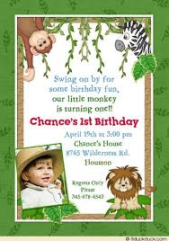 Jungle Theme Birthday Invitations Jungle Party Invite In 2019 Safari Theme Birthday Boy