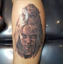Billie eilish tattoos that you can filter by style, body part and size, and order by date or score. Billie Eilish Tattoo Portrait Tattoo Tattoos Billie Eilish