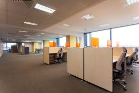 office with cubicles. A Modern Office With Cubicles N