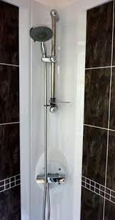 plastic shower cubicles for caravans motor homes