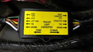 trailer wire harness converter issue • camping and trailers finally got a pic of the installed converter uploaded here ya go