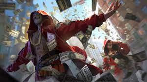 Money Heist Garena Free Fire style ...