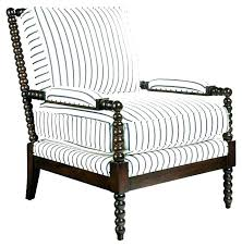 black and white striped accent chair lovely grey