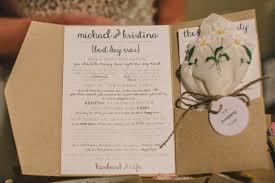 Wedding Ceremony Brochure 30 Of The Best Ceremony Booklet Ideas Weddingsonline