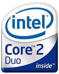 Intel core 2 Logos