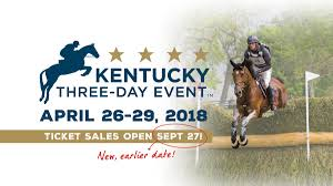 Kentucky Horse Park Seating Chart Ticket Sales For The 2018 Kentucky Three Day Event Open
