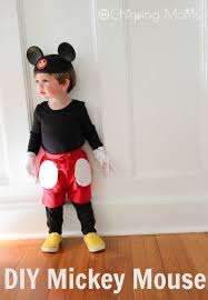 easy diy mickey mouse costume