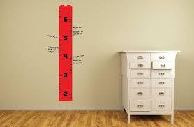 Lego Growth Chart Growth Height Chart Lego Theme Ruler By Vinylisyourfriend