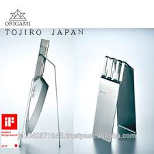 Origami Display Stand Beauteous IF DESIGN AWARD TOJIRO ORIGAMI Stylish Shaped Knife Display Stand
