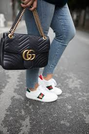 she ashley zeal from two peas in a prada shares how to clean gucci sneakers