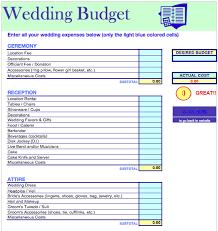 Wedding Planning Budget Calculator Wedding Budget Template Free Iwork Templates