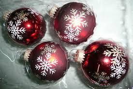 Details Zu Christbaumkugel Weihnachtskugel Christbaumschmuck Glas Krebs Lauscha Rot Weiß Go