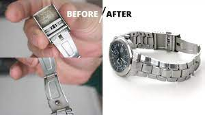 how to clean a snless steel watch
