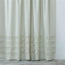 black pinstripe curtains ticking stripe shower curtain ruffled ticking stripe shower curtain gray ticking stripe shower curtain daily mail black and white