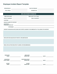 Fake Doctors Note South Africa Free Incident Report Templates Forms Smartsheet