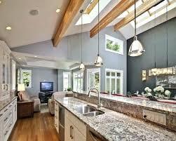 lighting ideas for sloped ceilings. Sloped Ceilings Ceiling Kitchen Lighting Ideas For