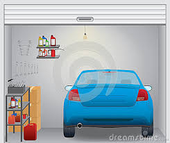 garage inside with car. Inside Clipart Garage #2 With Car