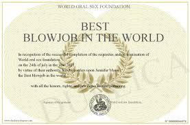 Best blow jobs in the wrold